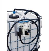 Kit for distributing fuel additive Ad Blue capacity of 35 l / min. manual with the gun and hose pouring 6m. 1000L tank mounting.