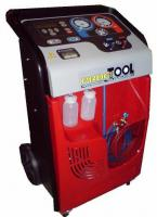 Air handling unit ACM3000, semi-automatic, built-in database of vehicles, menu j.polskim