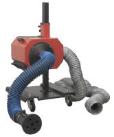 Sealey Suction exhaust system with 6 m hose.