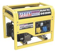 Sealey 2800W 110/230V power generator 6.5km