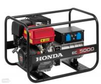 Honda EC5000 generator unit with maximum power of 5 kW, single phase