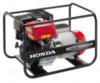 Honda EC7000 generator unit with maximum power of 7 kVA three-phase and 4 kW with voltage stabilizer so. AVR